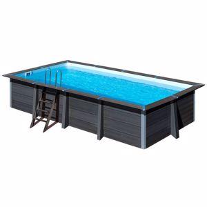 Kép AVANTGARDE  medence  606 x 326 x 124 cm SET  vízforgató- homokszűrő-létra geotextil
