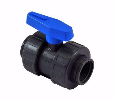 Kép a kategóriának PVC golyóscsap - gömbcsap