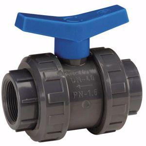 Kép PVC gömbcsap DN32 ragasztható